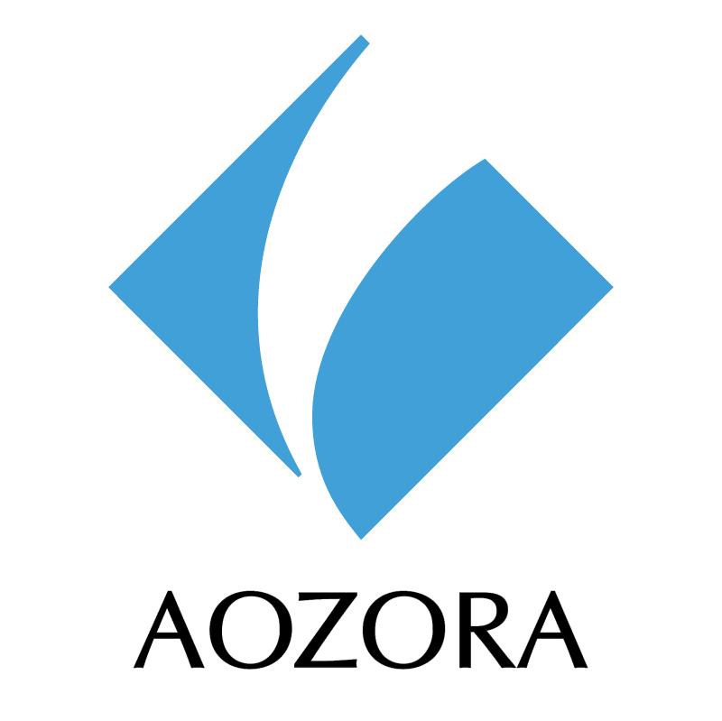 Aozora Bank 69837 vector