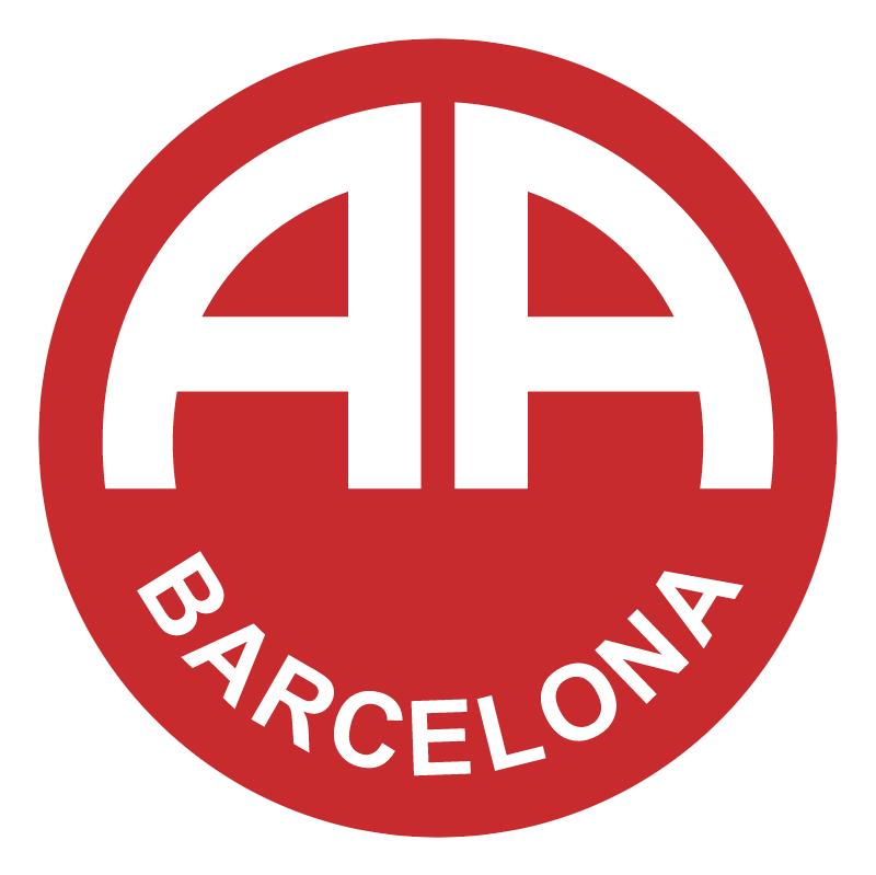 Associacao Atletica Barcelona de Uruguaiana RS vector