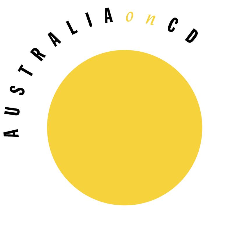 Australia on CD vector