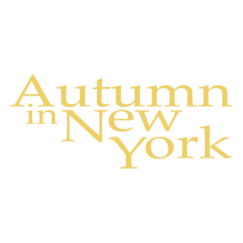 Authumn in New York 72543 vector