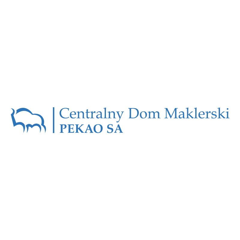Bank Pekao Centralny Dom Maklerski vector
