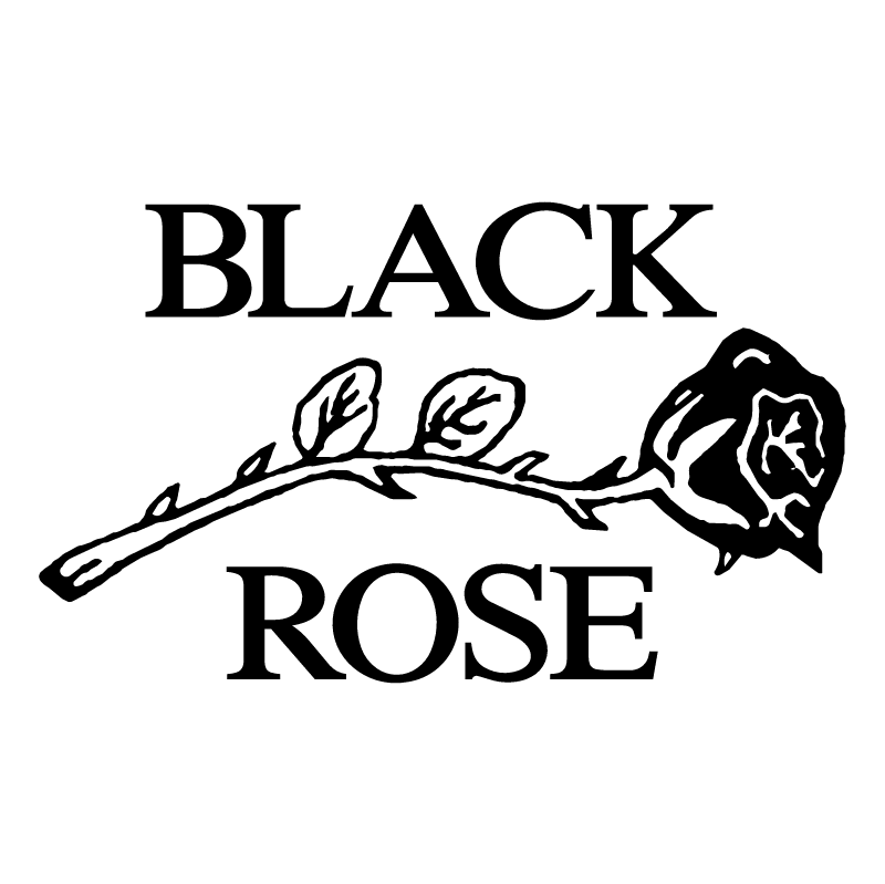 Black Rose Leather vector