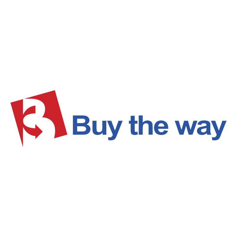 Buy the way vector