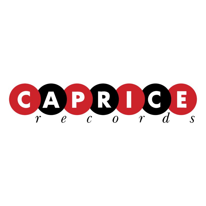 Caprice Records vector