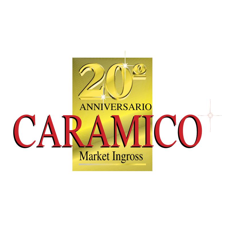 Caramico 20 Anniversario vector