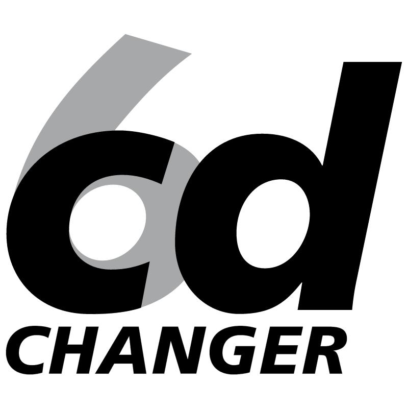 CD changer 6 5947 vector