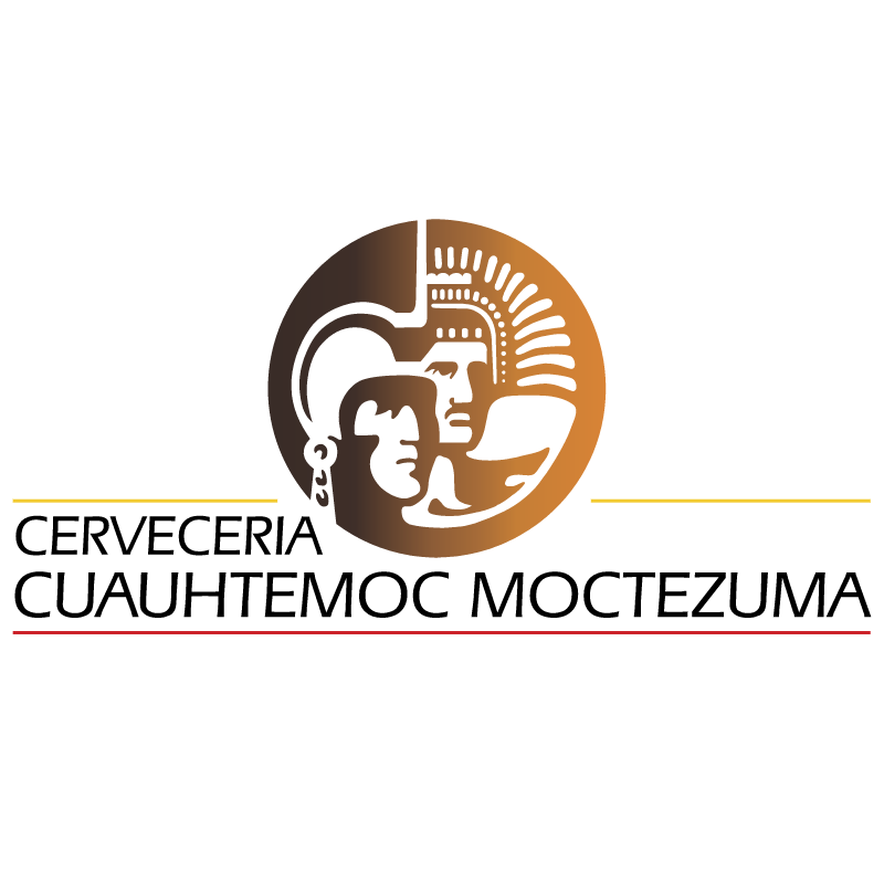 Cerveceria Cuauhtemoc Moctezuma vector