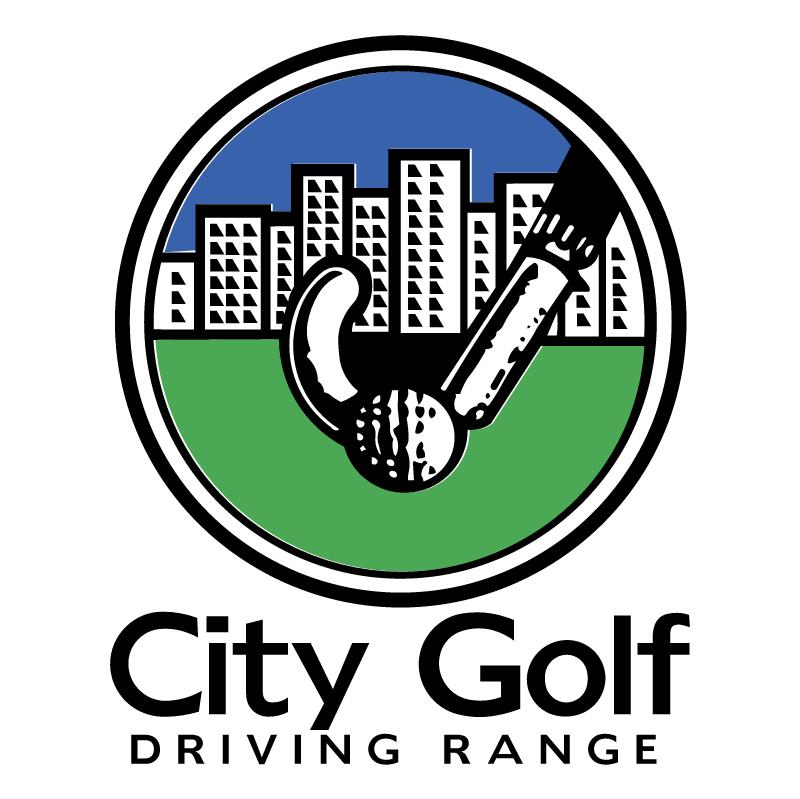 City Golf Driving Range vector