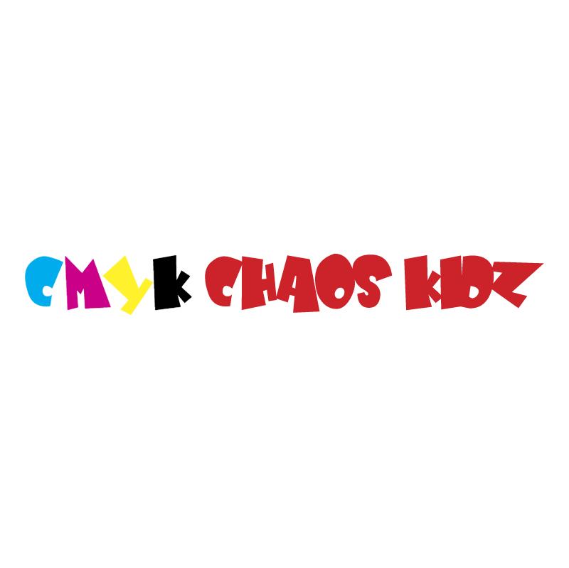 CMYK chaos kidz vector