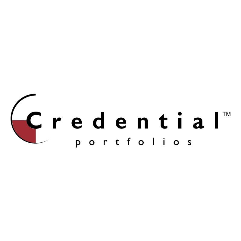 Credential Portfolios vector