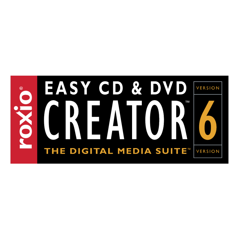 Easy CD DVD Creator 6 vector logo