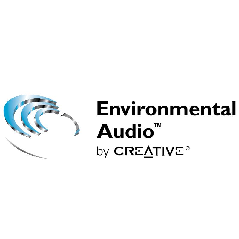 Environmental Audio by Creative vector logo
