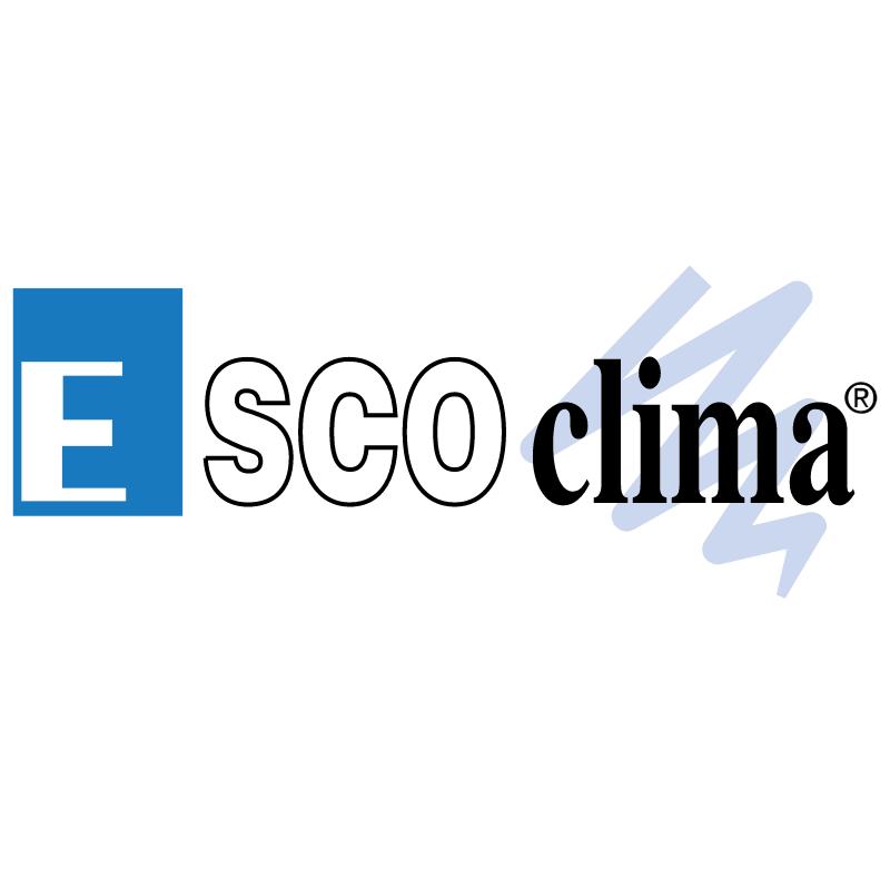 EscoClima vector logo
