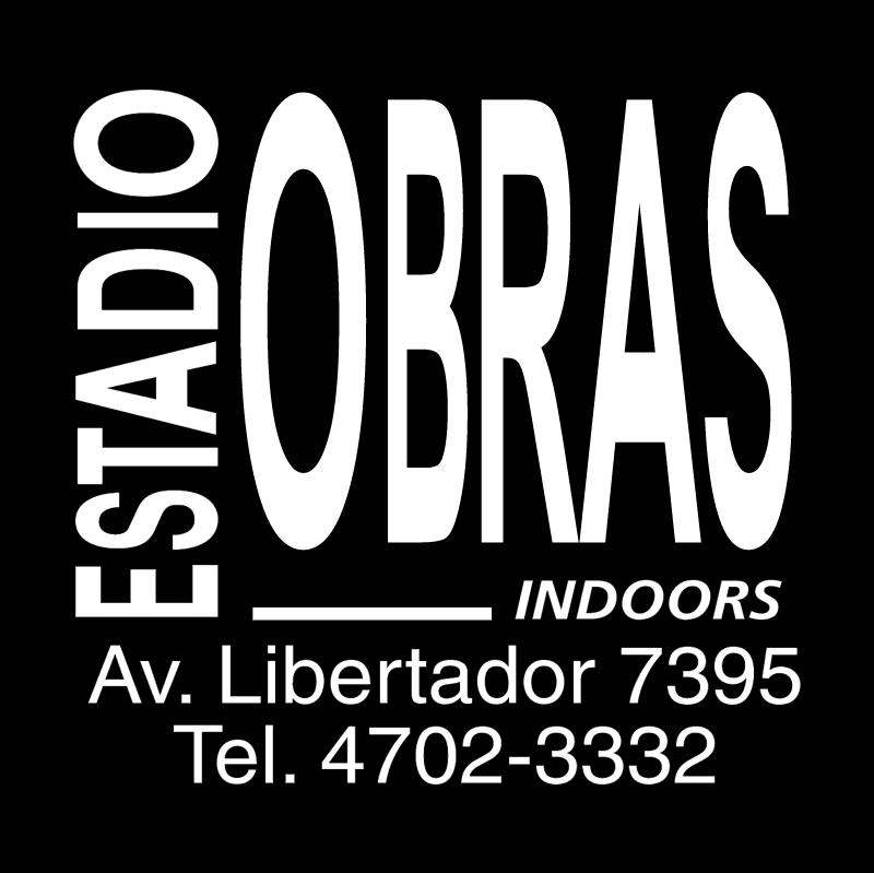 Estadio Obras vector logo
