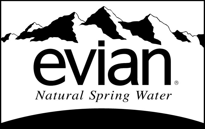 EVIAN WATER 2 vector