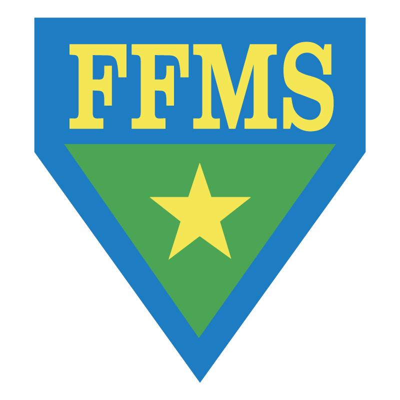 Federacao de Futebol do Mato Grosso do Sul MS vector