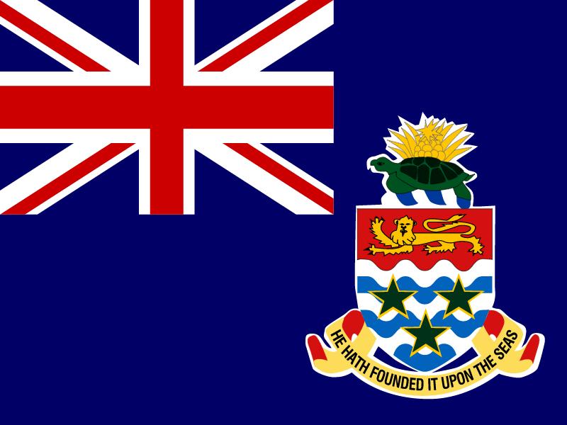 Flag of Cayman Islands vector logo