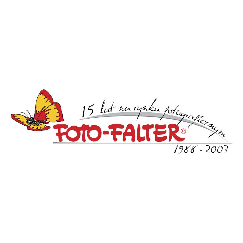 Foto Falter vector logo