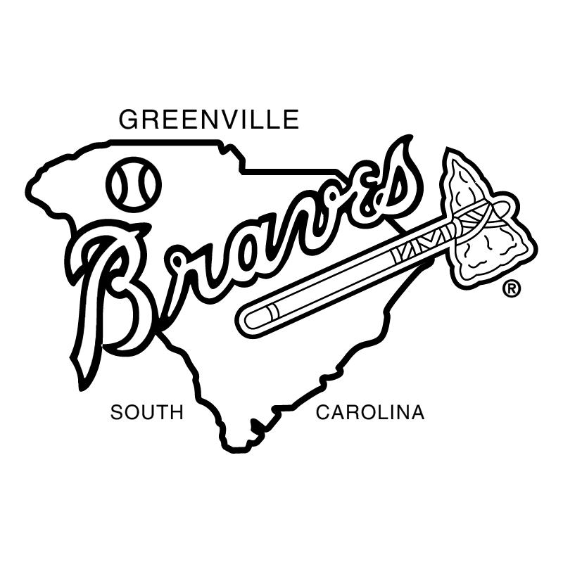 Greenville Braves vector