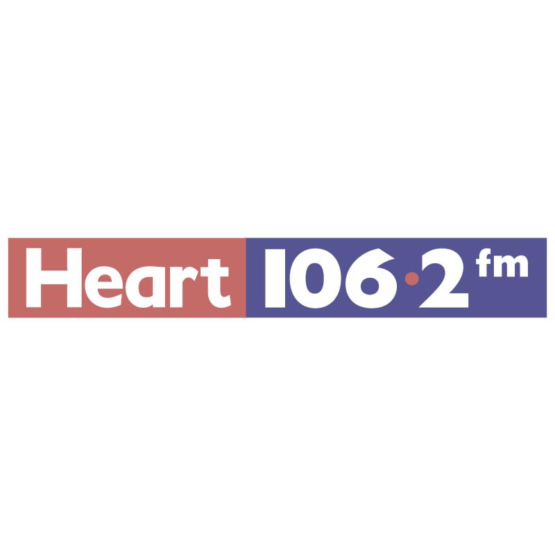 Heart 106 2 FM vector