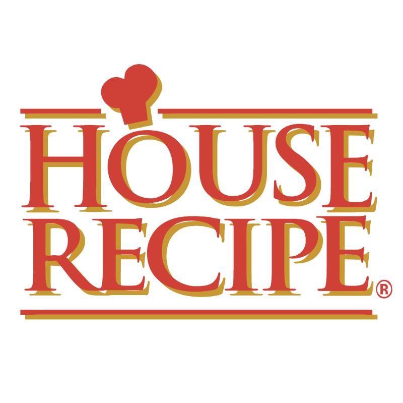 House Recipe vector