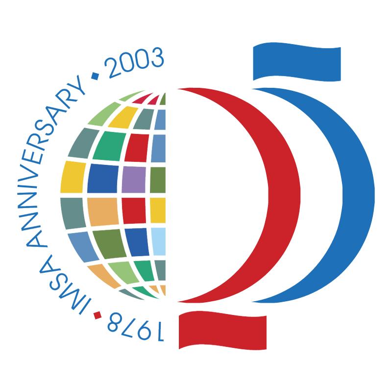 IMSA 25 Anniversary vector