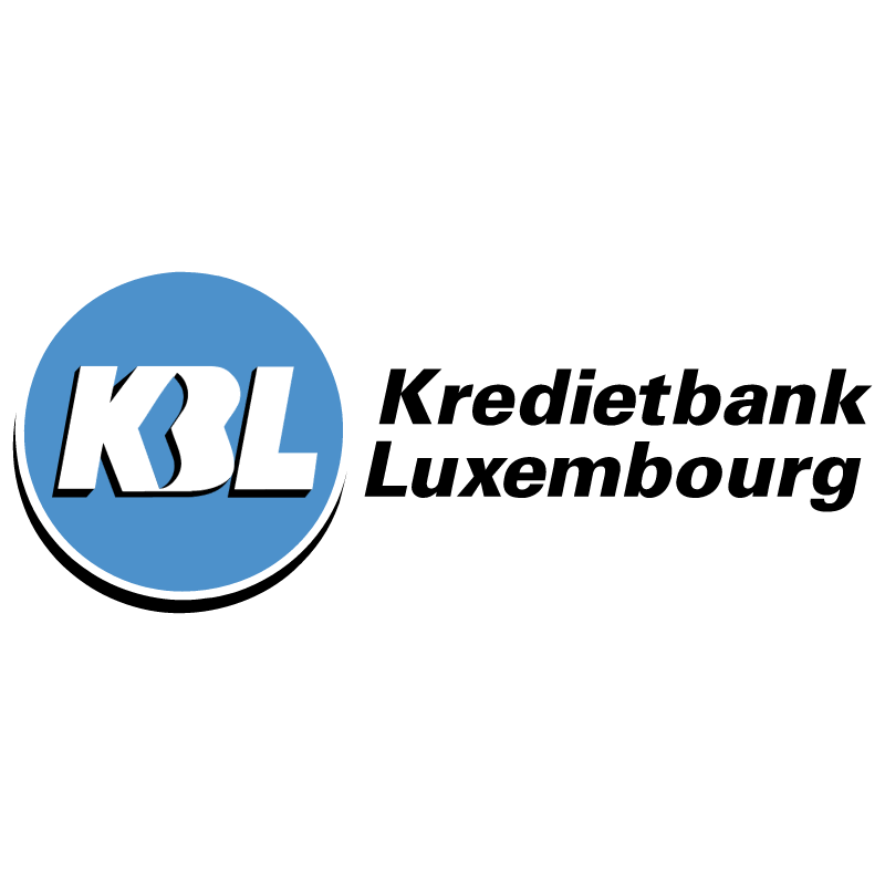 KBL Kredietbank Luxembourg vector