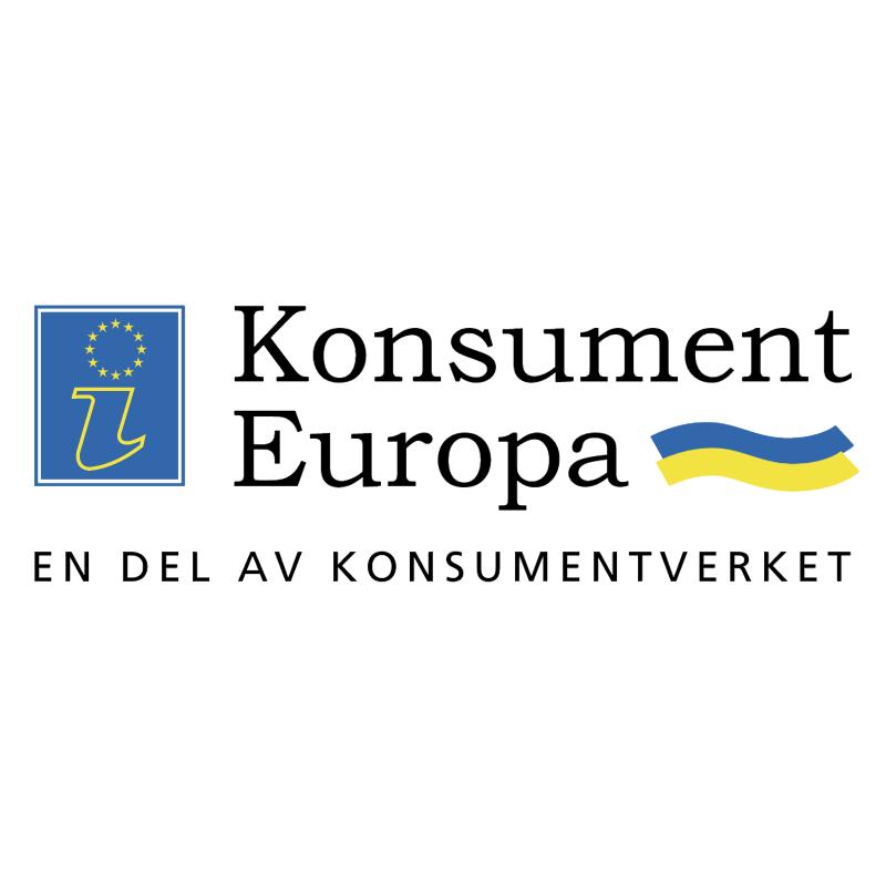 Konsument Europa vector