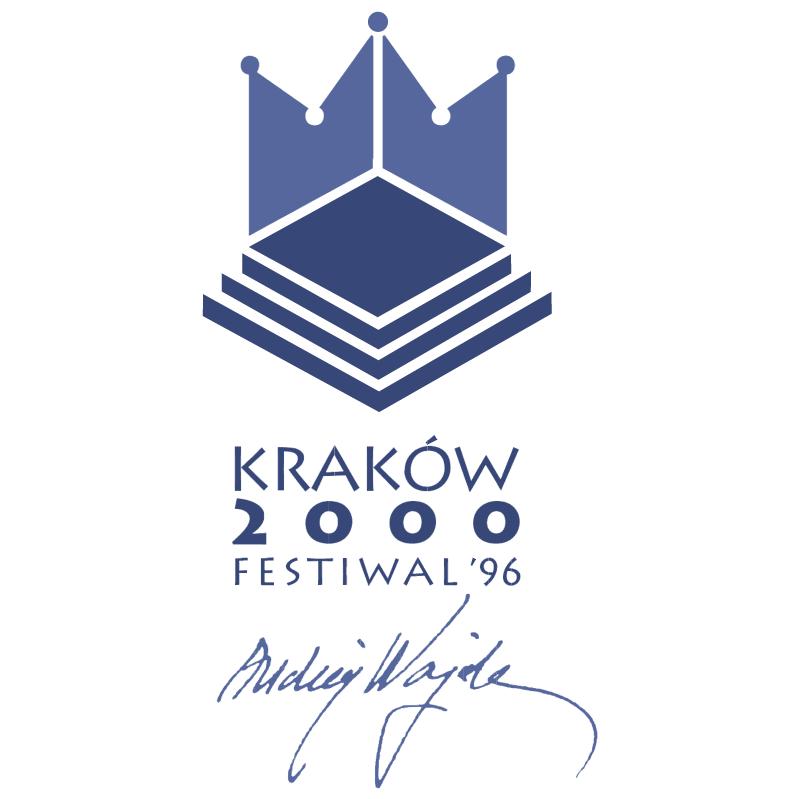 Krakow 2000 Festiwal vector