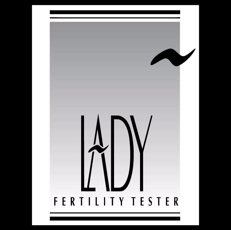 Lady Fertility Tester vector