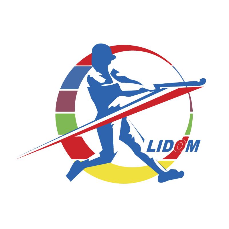 LIDOM vector logo