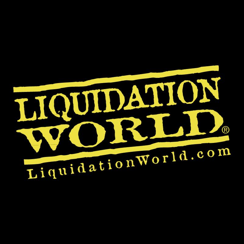 Liquidation World vector