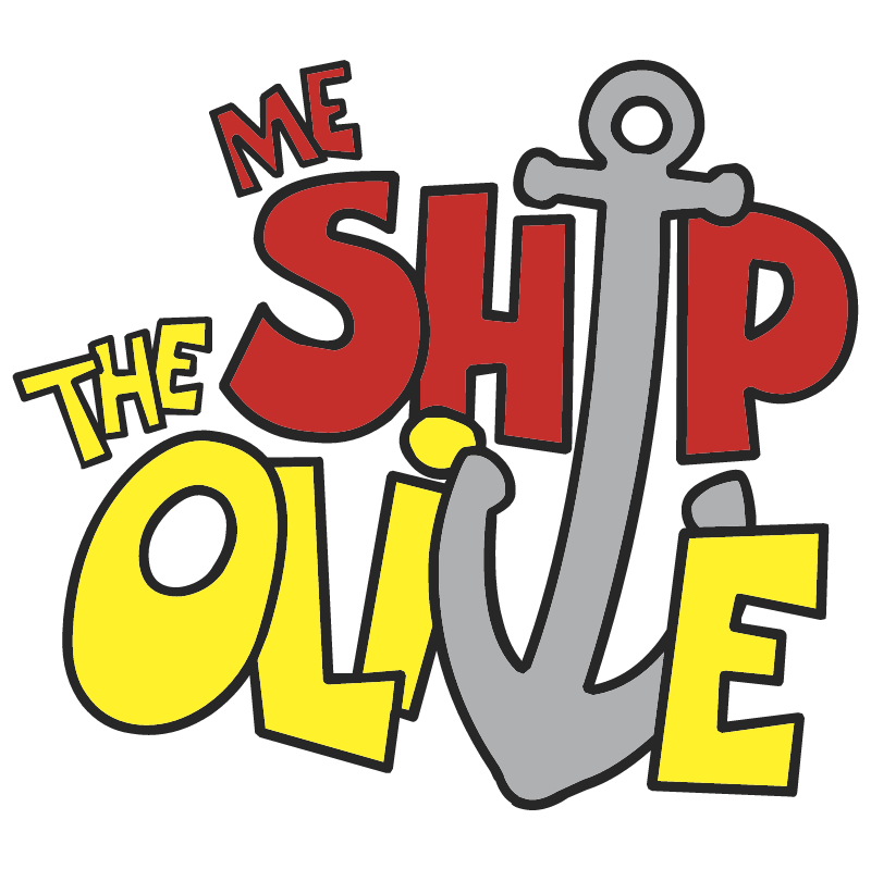 Me Ship The Olive vector