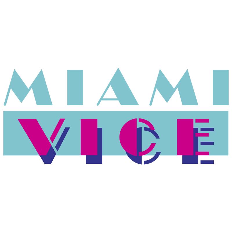 Miami Vice vector