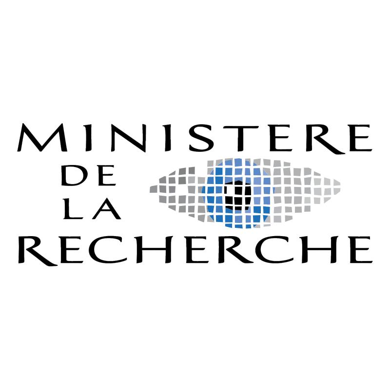 Ministere de la Recherche vector