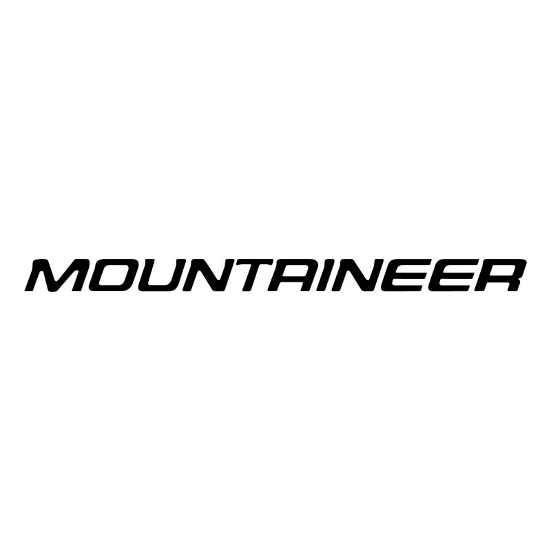 Mountaineer vector