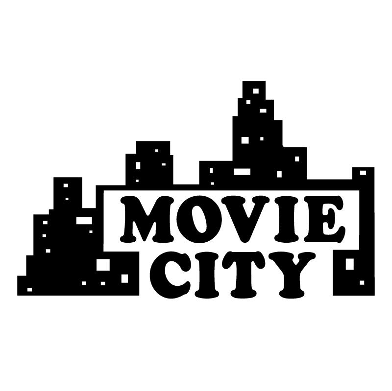 Movie City vector logo