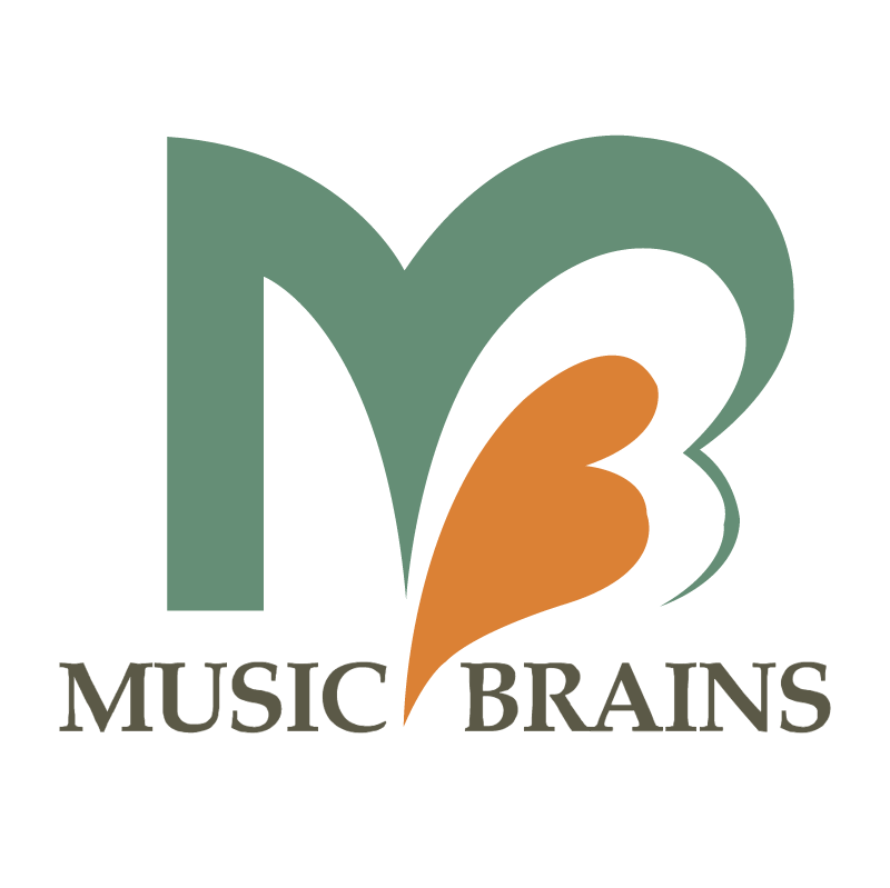 Music Brains vector logo
