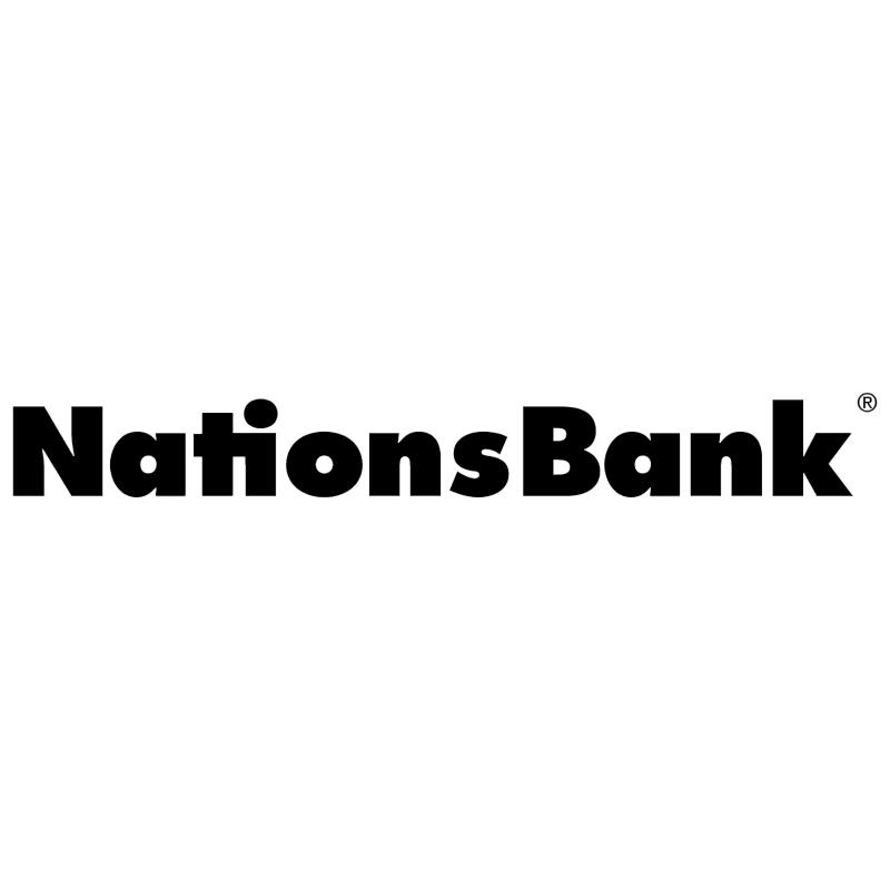 Nations Bank vector