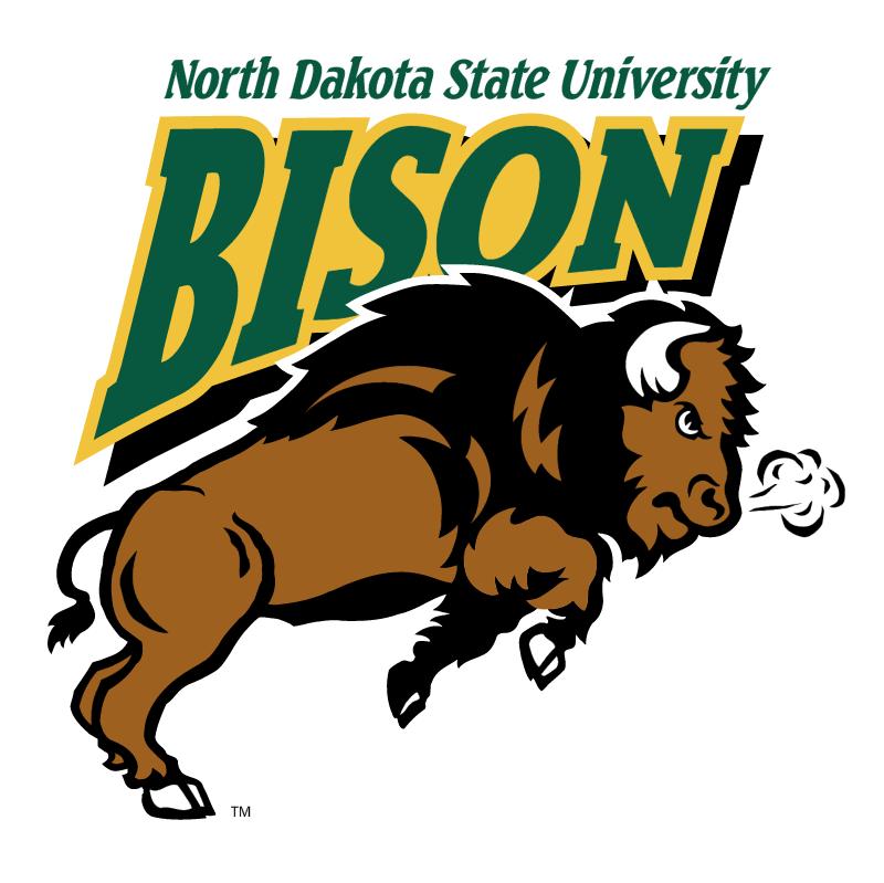 NDSU Bison vector