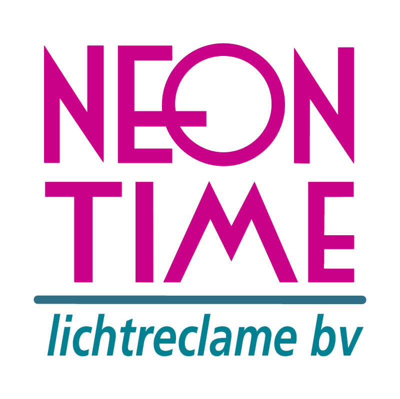neon time vector