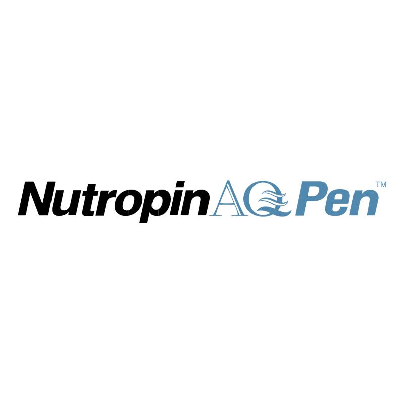 Nutropin AQPen vector logo