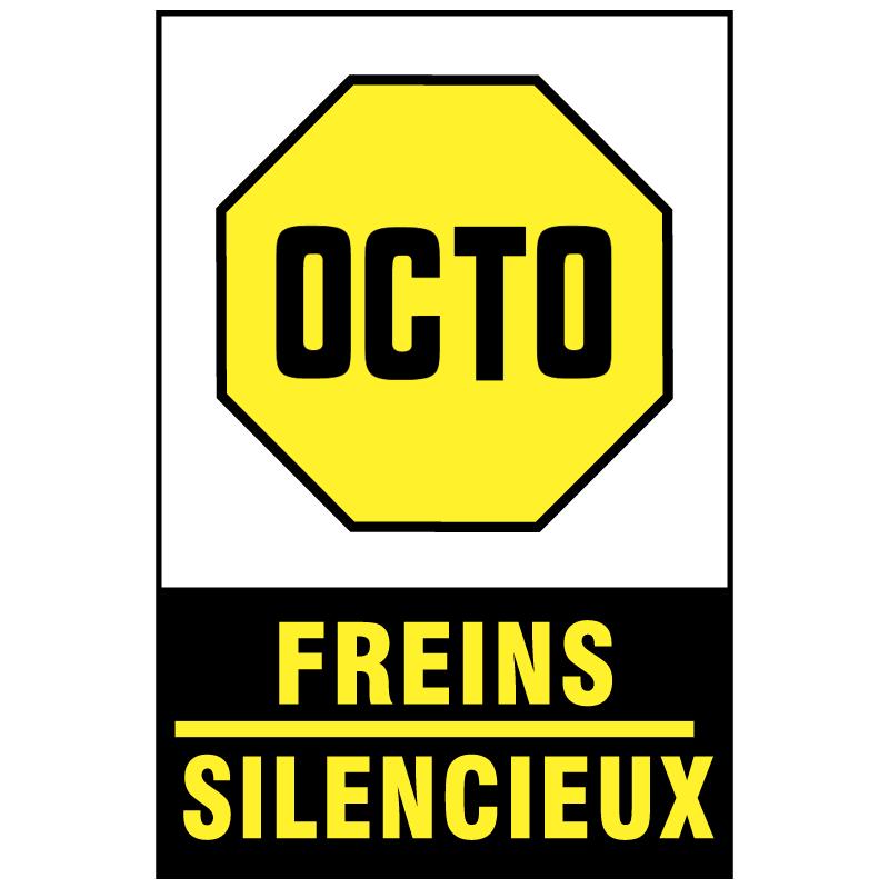 Octo Freins Silencieux vector