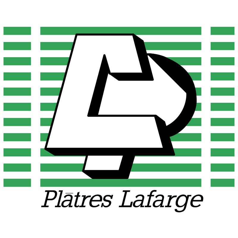 Platres Lafarge vector logo