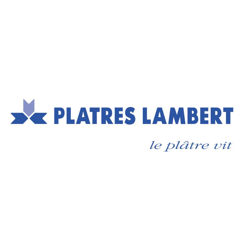 Platres Lambert vector