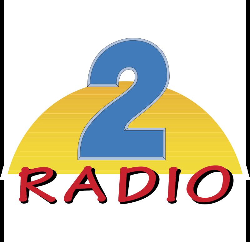 Radio 2 vector logo