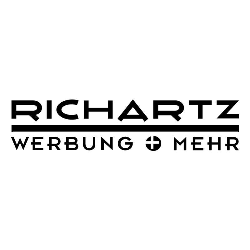 Richartz Werbung + Mehr vector logo