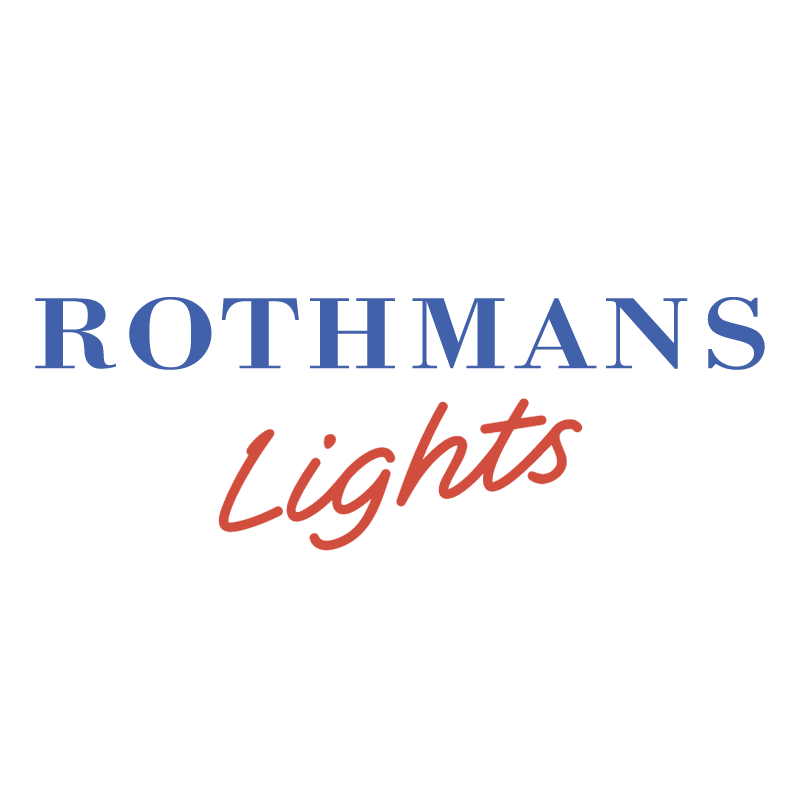 Rothmans Lights vector