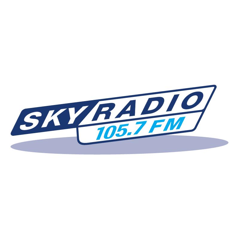 Sky Radio 105 7 FM vector