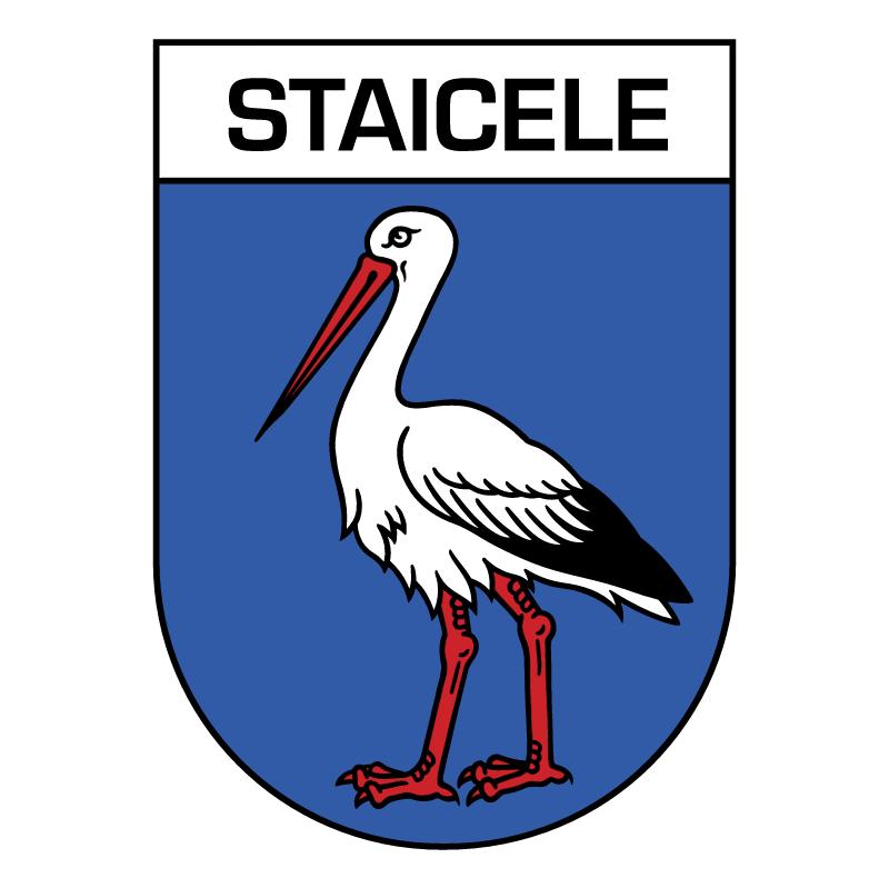Staicele vector logo